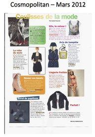 Cosmopolitan Magazine - March 2012