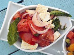 Nyári saláta fügével görögdinnyével és fetával - Receptek | Ízes Élet…