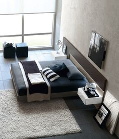 Eye-Opening Unique Ideas: Minimalist Bedroom Men Platform Beds minimalist home office organization.Minimalist Home Design Closet minimalist home organization house.Warm Minimalist Home Apartment Therapy. Bedroom Paint Design, Bedroom Designs, Bed Designs, Bedroom Colors, Paint Designs, Minimalist House, Minimalist Bedroom, Modern Minimalist, Minimalist Design