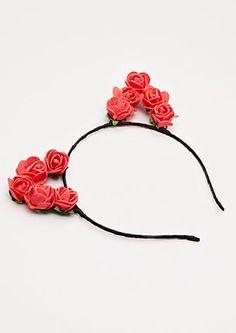 Rosy Cat Ear Headband | Headbands & Wraps | rue21 Headband Wrap, Cat Ears Headband, White Headband, Headbands, Cute Jewelry, Diy Jewelry, Unicorn Jewelry, Ear Hair, Happy Birthday Gifts