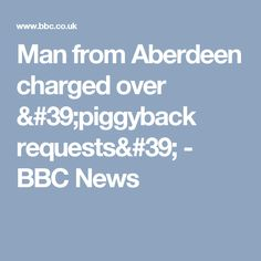 Man from Aberdeen charged over & requests& - BBC News Aberdeen, Bbc News, Police, Running, Keep Running, Why I Run, Law Enforcement