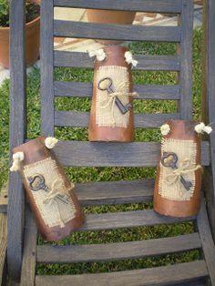 Decoupage, Santa Boots, Ideas Para, Wood Signs, Ladder Decor, Primitive, Shabby Chic, Diy, Crafts