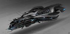 concept ships: Ships by Jon McCoy