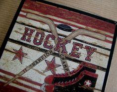 HOCKEY Skate Ball Sports Art Wall Room Sign. $8.99, via Etsy.