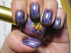 Purple Diamond (in picture it's layered over L.A. Colors Metallic purple) $7