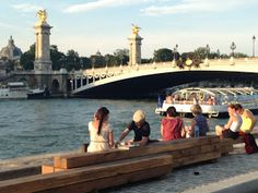 The Berges de Seine project has given the banks of the Seine back to the people, creating the best running route in Paris