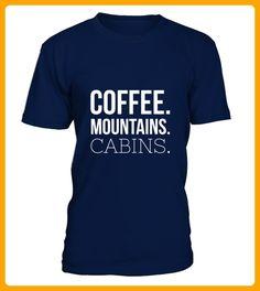Coffee Mountains Cabins - Shirts für reisende (*Partner-Link)