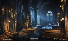 Scotty Hsin Shen (Lighting Artist): Gears of War 4