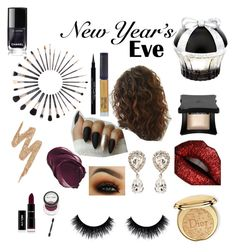 """""""New Years Eve makeup"""" by aredayuh ❤ liked on Polyvore featuring beauty, Sigma, Illamasqua, House of Sillage, Urban Decay, Christian Dior, Givenchy, Winky Lux and Dolce&Gabbana"""