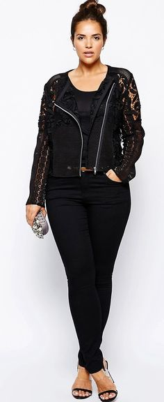 Plus Size Lace Jacket                                                                                                                                                                                 More