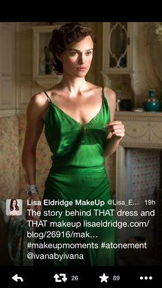Green dress!