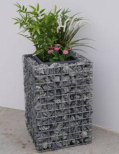 Blumensäulen - Blumensäule Höhe 60cm Grundfläche 42x42cm MW 5x5cm galvanisiert