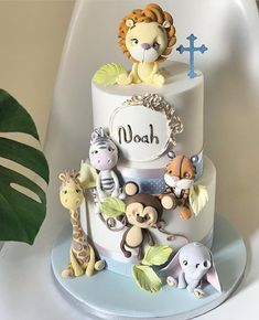 Jungle Cake, Jungle Party, Baby Design, Birthday Cake, Instagram, Baby Shower, Desserts, Cakes, Babyshower