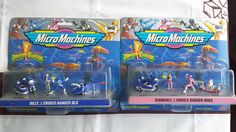 Micro Machines Power Rangers