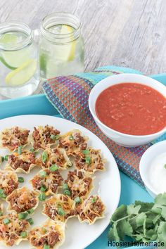 Mini Taco Cups #appetizer #holidayappetizer