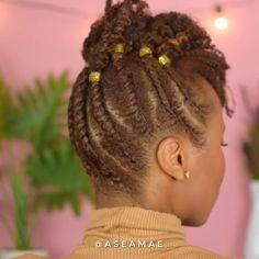 Flat Twist Tutorial Braids – Hair World Twist Curls, Flat Twist Updo, Twist Ponytail, French Twist Hair, Flat Twist Hairstyles, Box Braids Hairstyles, Protective Hairstyles, Protective Styles, Natural Hair Twa