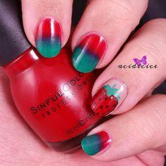 Strawberry Mani for Angel