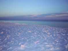 Opalescent Beach is like an abstract pastel, with soft sunset light coloring the pure white sand of this quiet beach at Seaside, Florida.