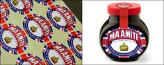 Etiquette labels were proud to manufacture the special edition labels, a front and back label was produced, the front was printed in 4 colour and the back was a 2 colour print both on one of our custom materials and finished with a special Varnish. Adorned with the Union Jack flag and the usual image of the Marmite pot replaced with a cleverly adopted Crown image, Hornall Anderson managed to create a standout design, altering the usual Red, White and Yellow colours to Red, White and Blue.