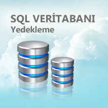 sql veritabanı yedekleme