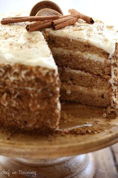 Gingersnap Spice Cake - CountryLiving.com
