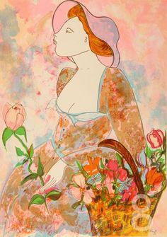Panier Aux Fleurs