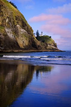Cape Disappointment Lighthouse Reflection by Justin Soderquist, via 500px
