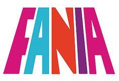FANIA Records Logo:このロゴ好きでしか無い。