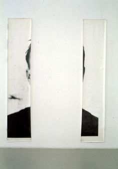 Michelangelo Pistoletto | Le orecchie di Jasper Johns (The Ears of Jasper Johns), 1966 | Photograph on paper