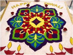 20 Best Rangoli Designs For Diwali 2013 To Inspire You