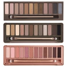 Pick between three eye shadow palettes Naked, Naked 2, or Naked 3. All palettes have 12 different color options. This is an amazing deal! ON SALE! Discount Makeup!