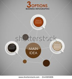 Coffee Infographic Templates for Business Vector Illustration. EPS10