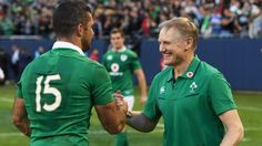 Joe Schmidt is all smiles after masterminding his Ireland's victory over the All Blacks.