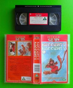 Heggerty Haggerty / Video Gems 56mins  Childrens Witch Cartoon 5 Stories 1986