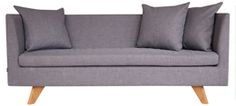 Stunder spisesofa fra Ygg og Lyng. Finnes også som 165 bred. Warm Colors, Colours, Grey Flooring, Love Seat, Couch, Living Room, Interior Design, Furniture, Home Decor