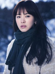 song hye kyo ♥ I think she is the most beautiful asian oriental woman. Real Beauty, Beauty Women, Asian Beauty, Korean Actresses, Korean Actors, Korean Celebrities, Celebs, Song Hye Kyo Style, Autumn In My Heart