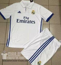 Camiseta primera Real Madrid 2016-17
