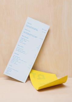 Taveres | restaurant menu design