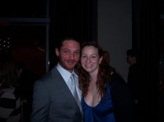 Tom  Hardy in Chicago at The Goodman Theatre for Tom's American theatre debut in The Long Red Road which was written exclusively for him by his friend award winning playwright Brett C Leonard. This well received and critically acclaimed play was directed by the talented and exacting Philip Seymour Hoffman.