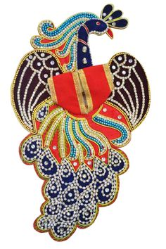 Laddu Gopal Dress Bal Krishna, Radhe Krishna, Blouse Styles, Blouse Designs, Laddu Gopal Dresses, Bal Gopal, Peacock Design, Hinduism, Winter Collection