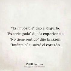 Es imposible. ..