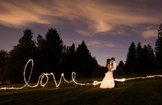 LOVE sparkler photo www.mattkennedy.ca  wedding sparkler photos