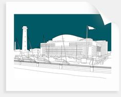 Royal Festival Hall by People Will Always Need Plates