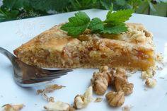 Fotorecept: Rebarborový koláč s drobenkou