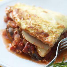 Aubergine and potato moussaka   Healthy Recipe   Weight Watchers UK