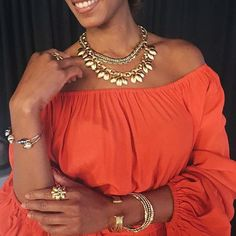 The brilliant and beautiful @kamelaforbes - one of our talented  stylists and a runway model. Brains and beauty, we're into it! #stelladotstyle
