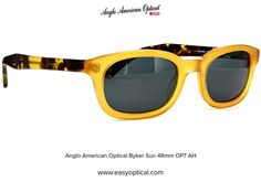 Anglo American Optical Byker Sun 48mm OP7 AH 21st, Sunglasses, American, Style, Swag, Sunnies, Shades, Outfits, Eyeglasses