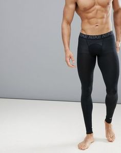 Nike Training utility tights in black at ASOS. Asos, Nike, Bodybuilding, Latest Trends, Leather Pants, Tights, Train, Running, Men