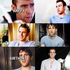 Find images and videos about harry potter, happy birthday and neville longbottom on We Heart It - the app to get lost in what you love. Harry Potter 9, Harry Potter Hermione Granger, Ginny Weasley, Happy 25th Birthday, Late Birthday, Dean Thomas, Oliver Wood, Matthew Lewis, Yer A Wizard Harry