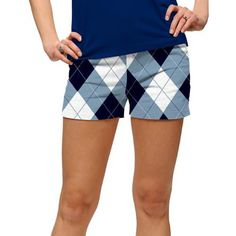 LoudMouth Ladies Blue & White Shorts (#SS) #golf #golfpants #golffashion #loudmouth #shorts